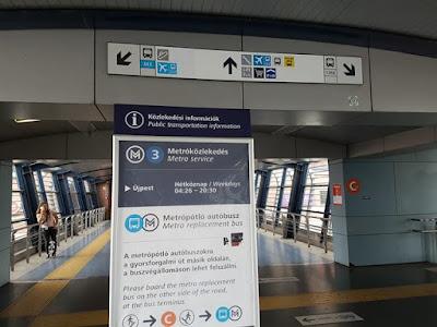 Estación de Kobanya-Kispest, en Budapest