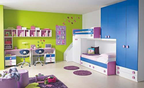 دهان غرف أطفال 2019 بالوان متعددة