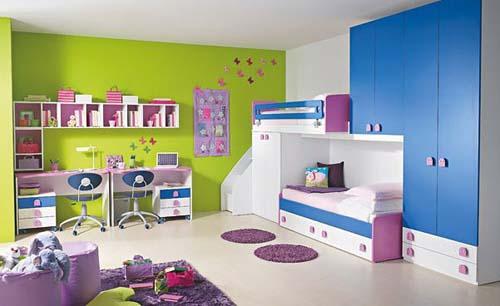 دهان غرف أطفال 2020 بالوان متعددة