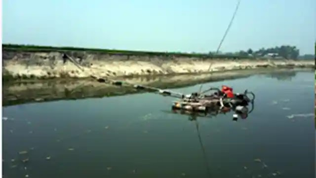 মেলান্দহে উরমা নদী থেকে বালি উত্তোলন চলছেই