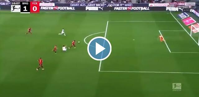 Borussia M'gladbach vs Bayern München Live Score