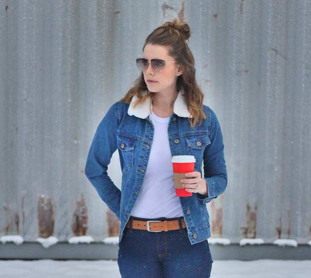 Forever 21 Denim on Denim Outfit
