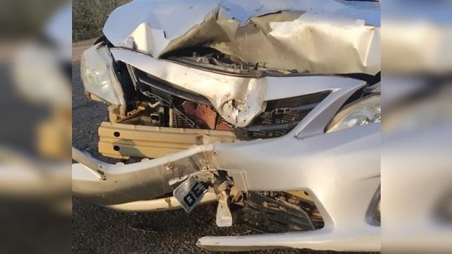 Acidente entre moto e carro deixa duas pessoas mortas no Sertão