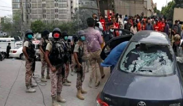 بریکنگ نیوز: کالعدم تنظیم بی ایل اے نے آج پاکستان اسٹاک ایکسچینج پر دہشتگرد حملے کی ذمہ داری قبول کر لی ہے