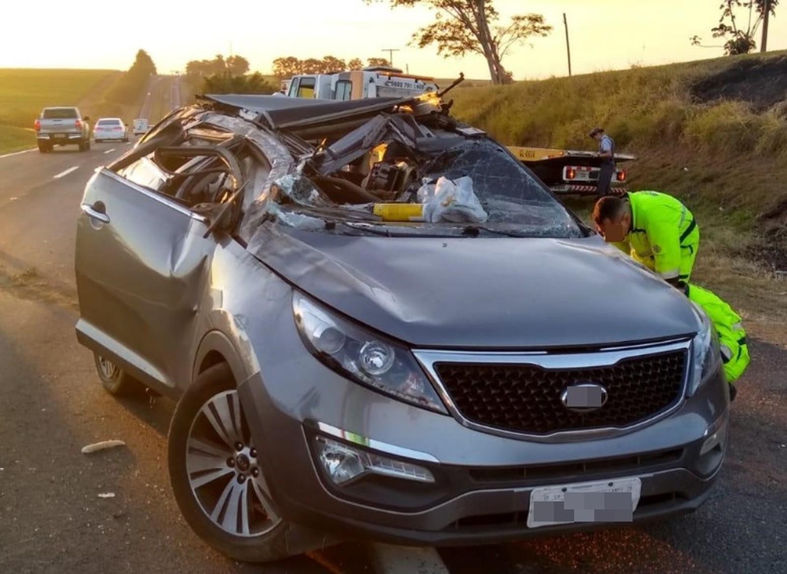 Acidente em rodovia mata mulher de 59 anos em Catiguá