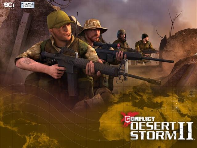 تحميل لعبة عاصفة الصحراء 2 للكمبيوتر