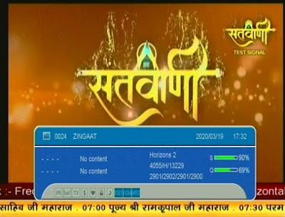 Santvaani channel on GSAT 30, GSAT 30 satellite, free to air channels, GSAT 30 FTA channels
