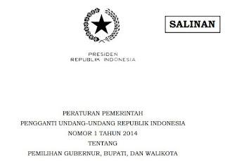Pemilihan Gubernur, Bupati, Wali Kota