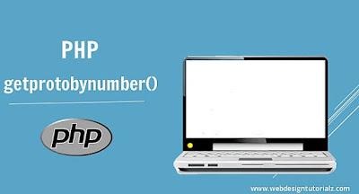 PHP getprotobynumber() Function