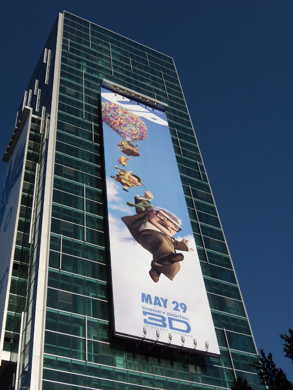 Up movie billboard