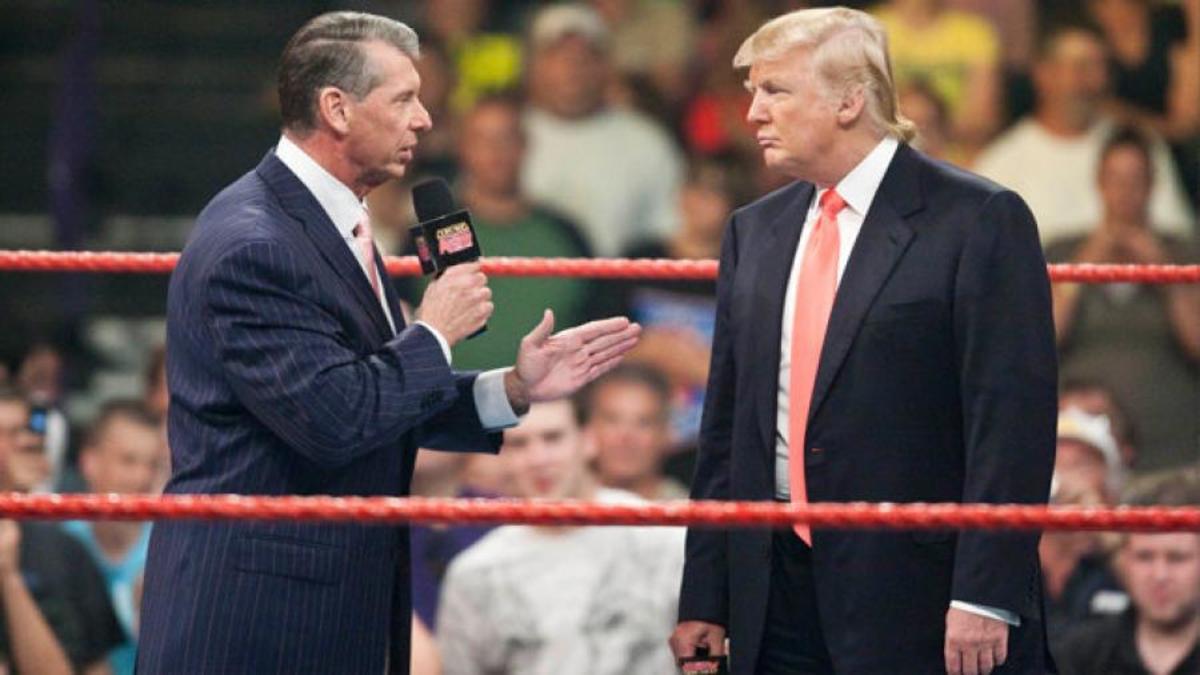 Vince McMahon está entre os  comissários que conversarão com Donald Trump hoje