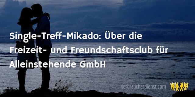Titel: Single-Treff-Mikado: Über die Freizeit- und Freundschaftsclub für Alleinstehende GmbH