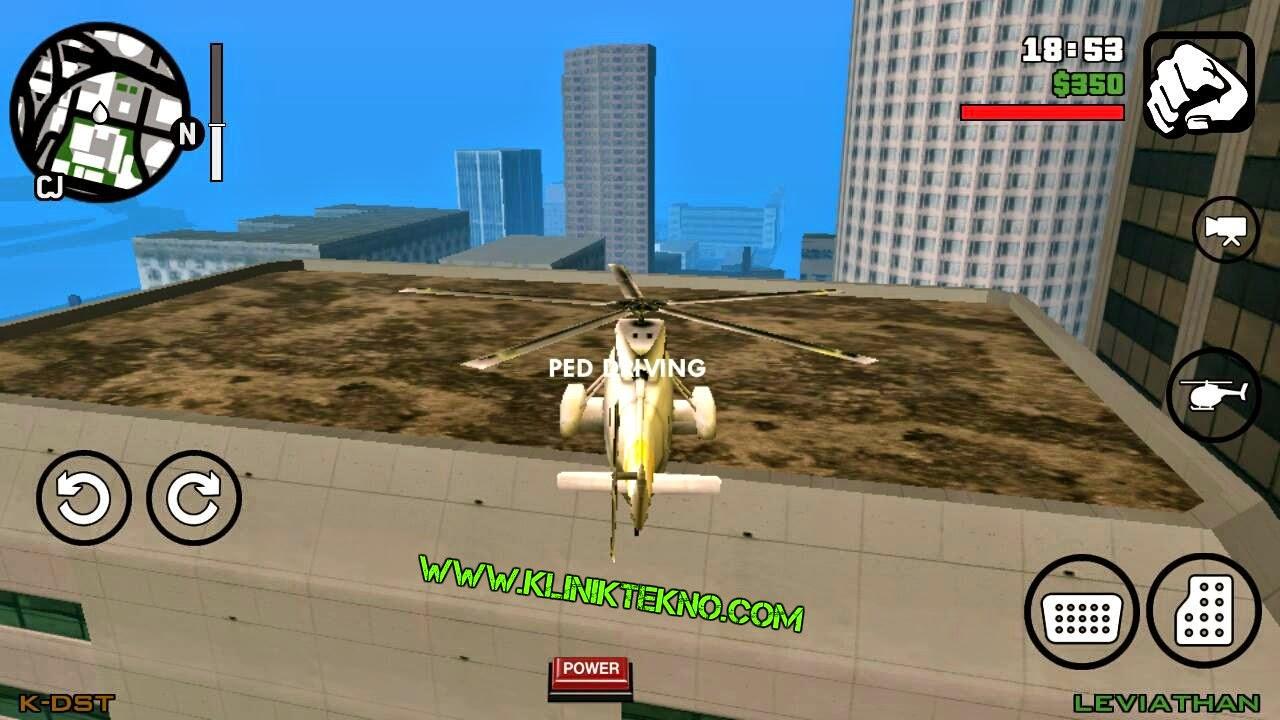 GTA San Andreas v1.05 Apk + Data Mod Cheat by Cleo Tanpa Root