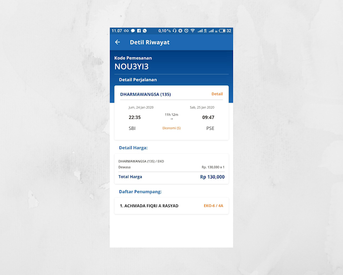 Perjalanan ke Bogor 2020 Part 1: Dilema Harga Tiket Kereta
