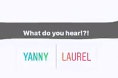 The internet debates over whether they hear: Yanny or Laurel