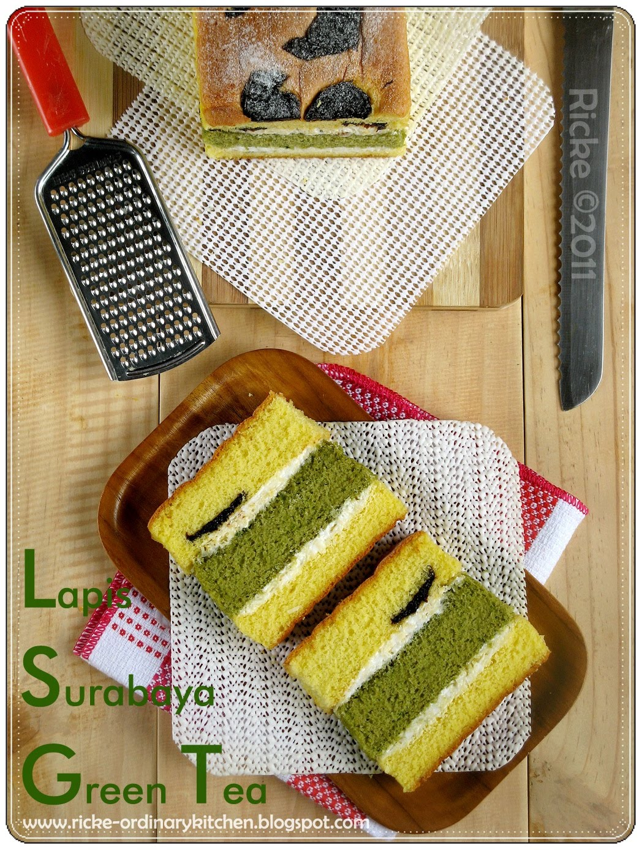 Lapis Surabaya Green Tea Prunes 1000 Aneka Resep Masak
