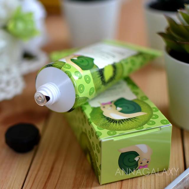 Крем для рук Milatte Fashiony Киви Fruit Hand Cream Kiwi имеет защитную мембрану