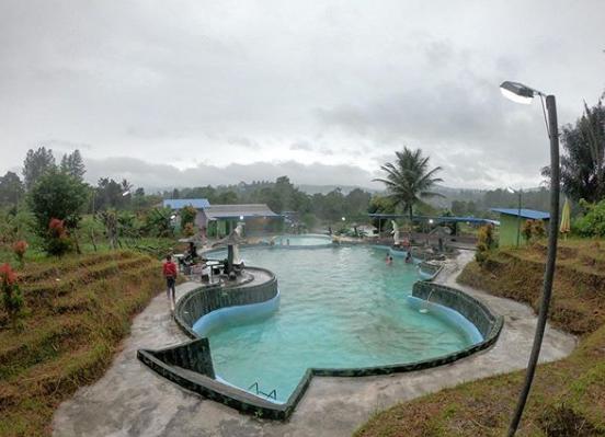 Pemandian Air Panas Wisata Lehu Tarutung | Wisata Baru Tarutung