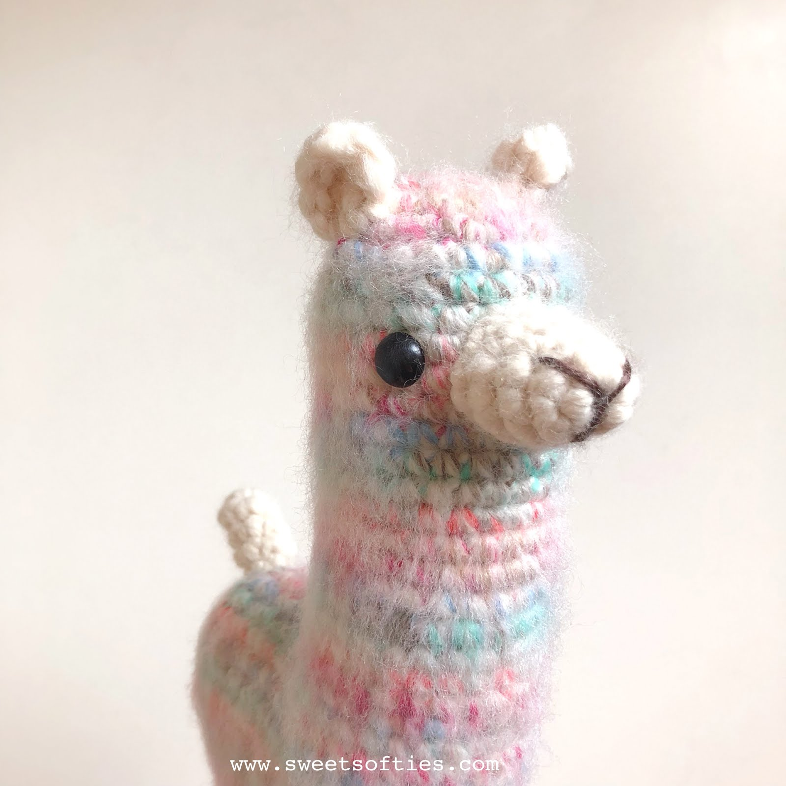 Crochet Llama Tutorial part 1 - YouTube | 1600x1600