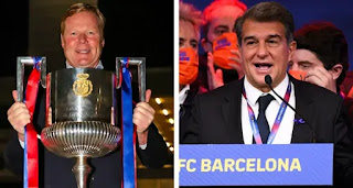 Laporta set to announce Koeman's stay as Barca coach in coming days