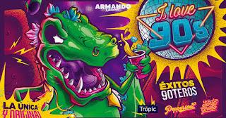 Fiesta I LOVE 90 Armando Bogota 2019