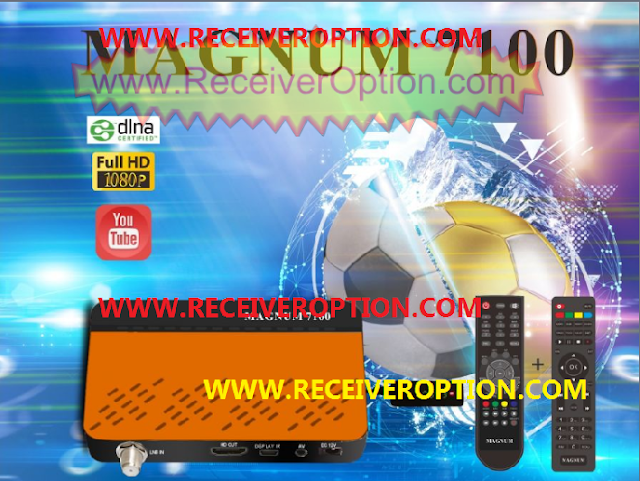 MAGNUM 7100 HD RECEIVER NEW SOFTWARE WITH XTREAM IPTV