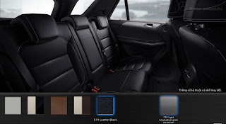 Nội thất Mercedes GLE 400 4MATIC 2018 màu Đen (211)