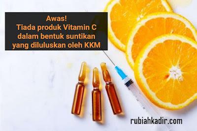 Suntikan Vitamin C Yang Membahayakan
