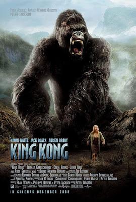 Póster película King Kong - 2005