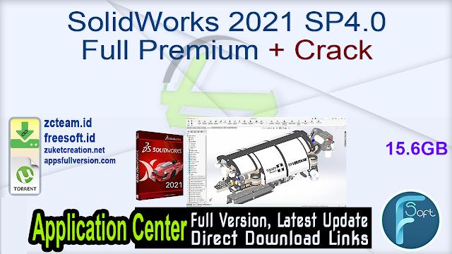 SolidWorks 2021 SP4.0 Full Premium + Crack_ ZcTeam.id