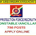 Railway Protection Force (RPF) Recruitment 2019 : 798 Constable (Ancillary) Posts , Apply Online