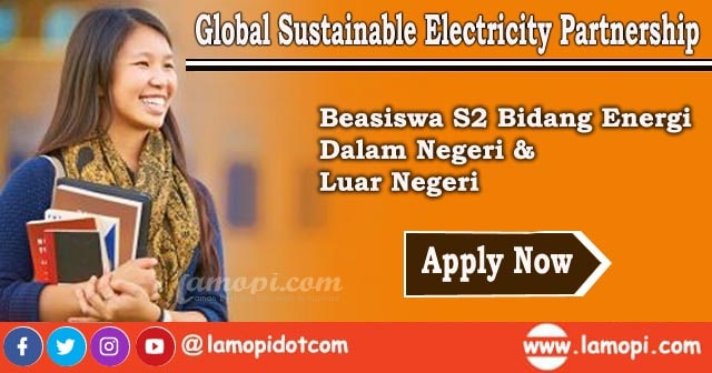 Beasiswa Global Sustainable Electricity Partnership
