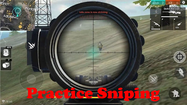 Practice Sniping