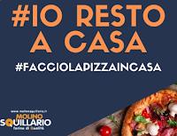 Logo Molino Squillario #Facciolapizzaincasa : vinci gratis kit di prodotti