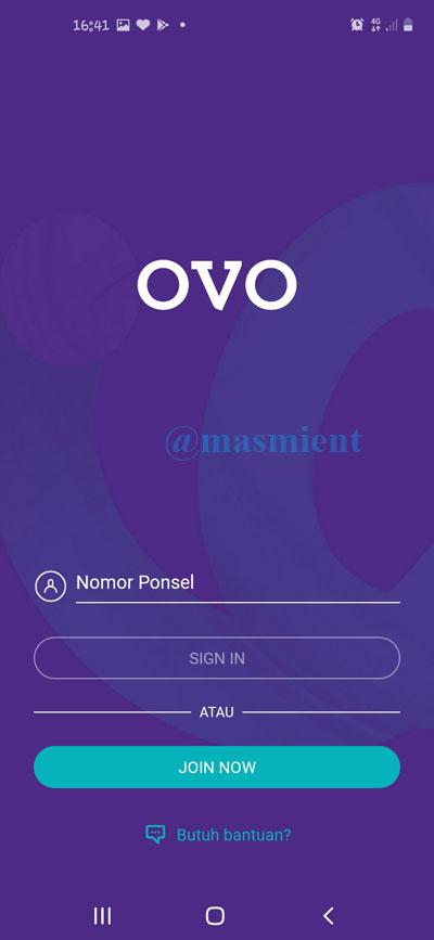 Cara Daftar OVO