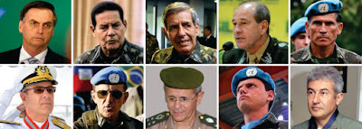Militares no governo