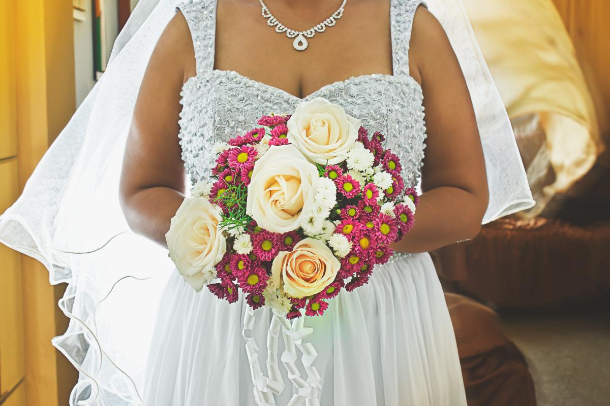 Fotografía de ramo de boda, fotógrafo profesional en Medellín