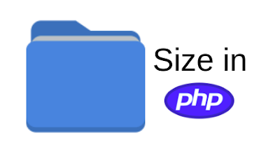 Calculate Directory Size in PHP   Working Example Code