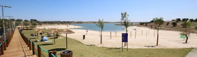 Praia na Aldeia de Alqueva