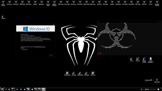 Download Windows Based Pentesting OS For Hacking:- Windows 10 Black Spider | hackin5min.com
