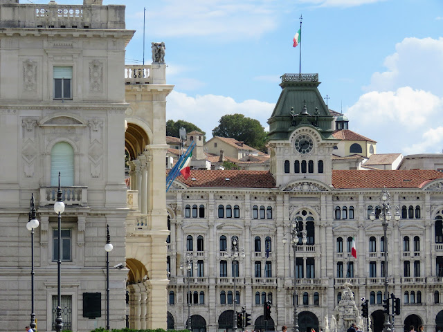 Points of interest in Trieste City: Piazza Unita d'Italia