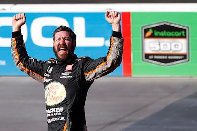 Martin Truex Jr. First Phoenix Raceway Win
