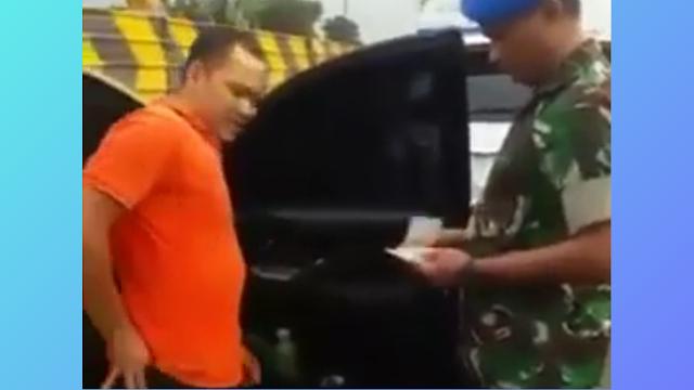 Klarifikasi Video Viral 'Banser Kendarai Mobil Berpelat TNI Diamankan Dandenpom Tangerang'