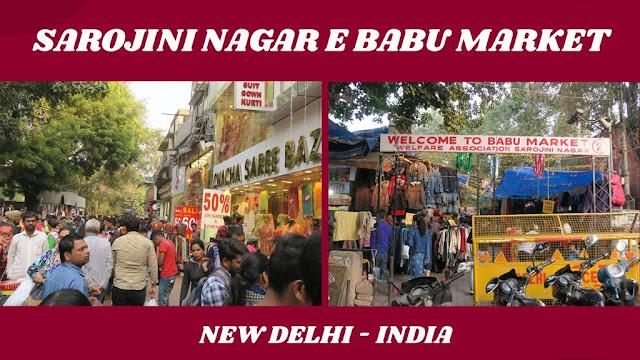Sarojini Nagar Market e Babu Barket