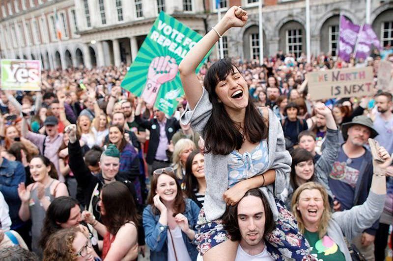 Manifestação a favor do aborto