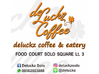 Lowongan Kerja Cook/Cook Helper dan Kasir & Waiters di Deluckz Coffee - Surakarta