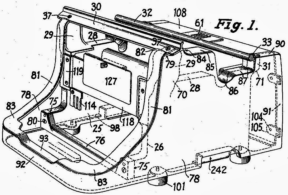 oz typewriter 1958 Hudson Prototype dobson continued to work on the master in january 1938 above and below