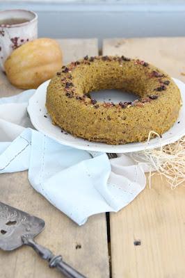Gâteau à la courge et aux épices vegan (cuisson vapeur)