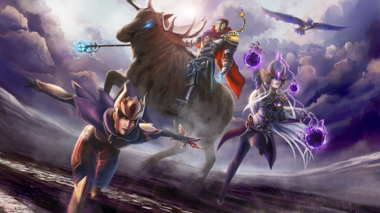 Viktor, Shyvana et Syndra - League of Legends - Full HD 1080p