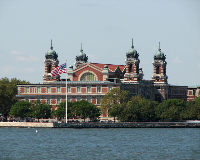 Main Building now housing the Immigration Museum Ellis Island, Upper New York Bay, New York